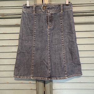 HM Jean skirt